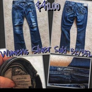 Women's Silver Jeans Suki Long